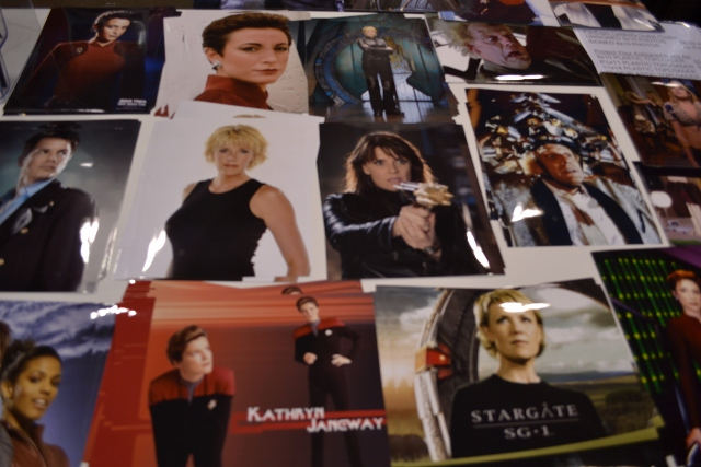 Toronto Fan Expo - Kate Mulgrew, Nana Visitor amd Amanda Tapping items for sale