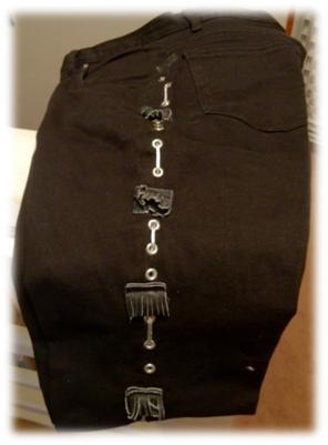 Roxette NYC 2012 - Contest prize Per Gessle Pants