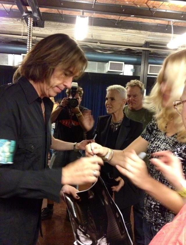 Roxette NYC 2012 - Per autograph signings