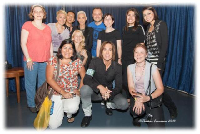 Roxette NYC 2012 - Roxette Meet and Greet with Marie and Per