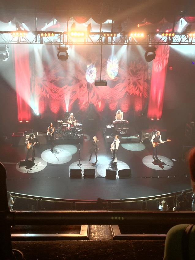 Roxette NYC 2012 - Rocking on the stage of the Beacon Theatre