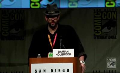 SDCC Fringe 2012 - Moderator Damian Holbrook