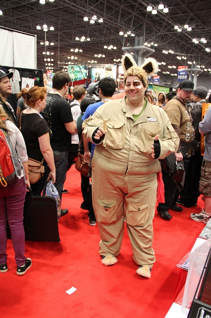 NYCC 2012 - Barf, from Spaceballs