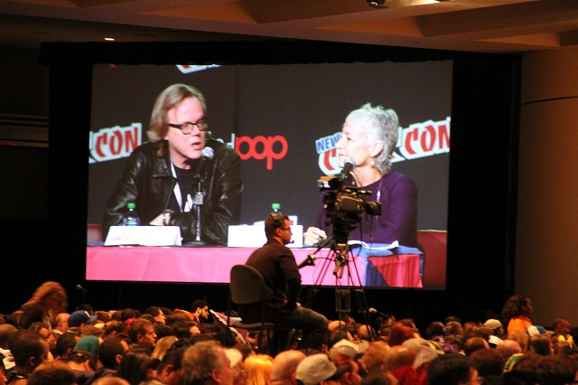 NYCC 2012 - Bruce Timm and Andrea Romano Answer Questions from Crowd