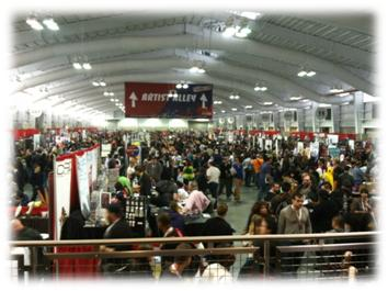 NYCC 2012 - Great vendors hall