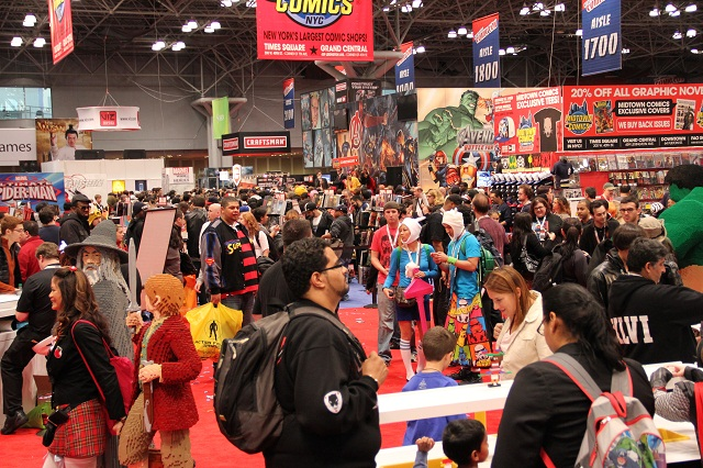 New York Comic-Con Memoirs: Batman The Dark Knight Returns (part 2), Spidey's 50th, Fringe, Haven, Stargate and MORE!