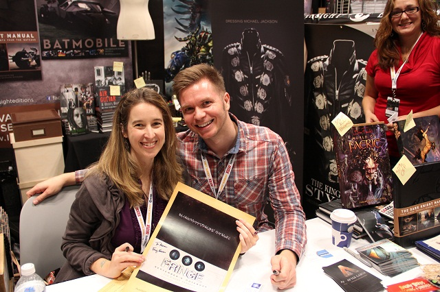 NYCC 2012 - Tara Bennett and Paul Terry; authors of 'September's Notebook'