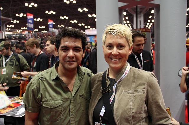 NYCC 2012 - With Alexis Cruz