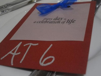 AT6 Ripples - Every day is a celebration of life