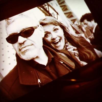 Dennys Illic with Amanda Tapping - Click to follow DennyDenn on Twitter!