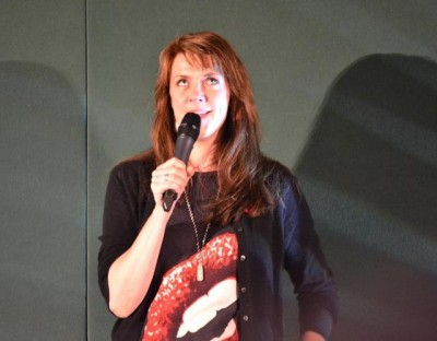 AT6 Ripples -Amanda Tapping rolls her eyes
