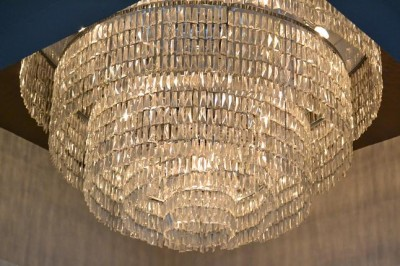 AT6 Ripples -Gorgeous chandeliers in ballroom