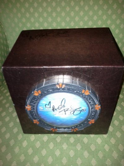 AT6 Ripples - My signed Stargate SG-1 box set