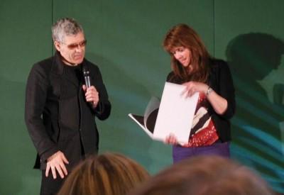 AT6 Ripples - Dennys Ilic and Amanda Tapping examine his photo book