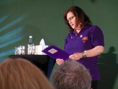AT6 Ripples -The wonderful Julia Hague of GABIT Events