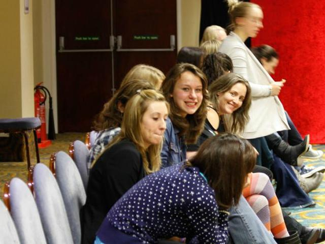 AT6 Ripples - Fans wait for autographs - Image courtesy GABIT Events