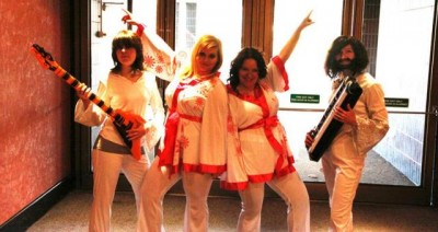 AT6 Ripples Abba Tribute Band members - Image courtesy GABIT Events