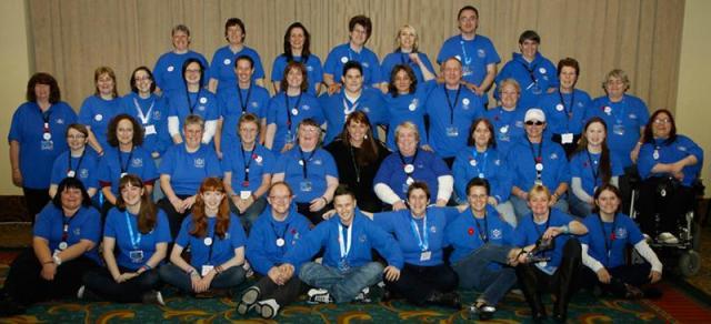 AT6 Ripples Staff - Image courtesy GABIT Events