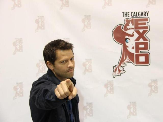 Calgary Expo 2013 Misha Collins