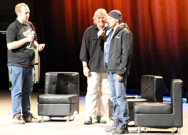 Calgary Expo RDA and Michael Shanks