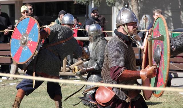 Calgary Expo Viking Battle