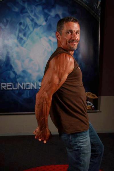 Cliff Simon at Reunion