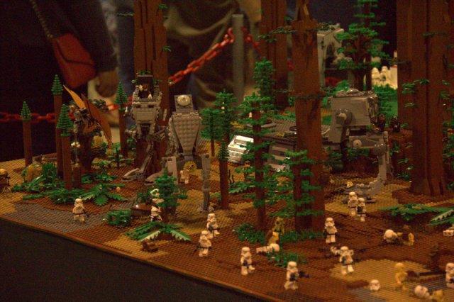 Lego display at Calgary Expo