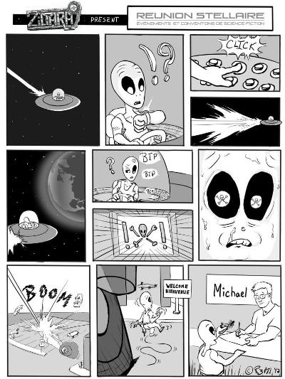Reunion Stellaire comic