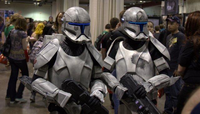 Star Wars Bounty hunters at Calgary Expo