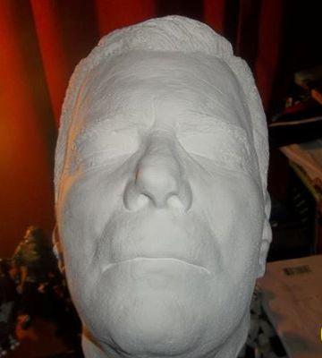 Dallas Comic-Con 2013 - William Shatner bust - image courtesy C2 Events