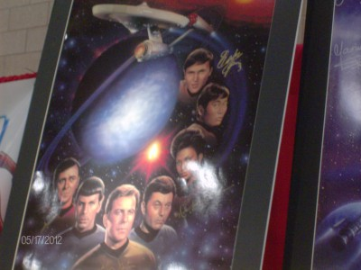 Star Trek poster from DCC 2013
