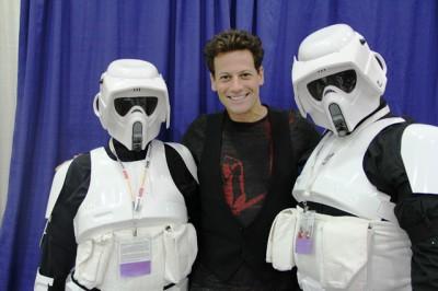 Origins 2013 - Ioan Photobomb with Storm Troopers