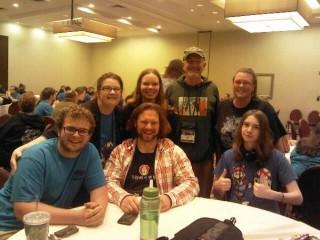 Origins 2013 - Most of the Kids Room Staff, photo courtesy of Jennifer Driver-Sylvia