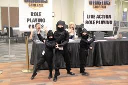 Origins 2013 - NowSeeEm Ninjas