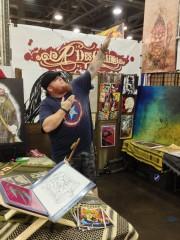 Origins 2013 - Rik DesChain at Booth