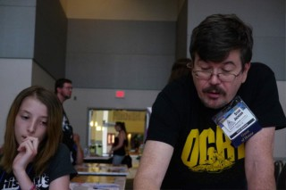 Origins 2013 - Steve Jackson Ogre from Kickstarter2