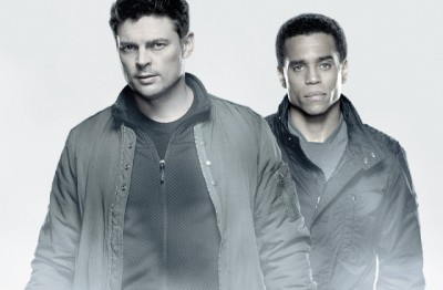Almost Human - promo banner - Click to learn more at FOX Broadcasting