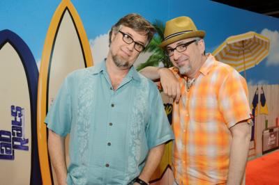 D23 Expo - Dan Provenmire and Jeff Swampy Marsh - 133023_8905