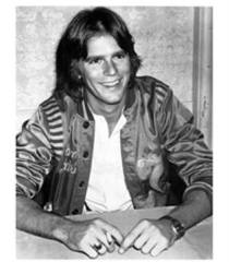 Young Richard Dean Anderson - Image courtesy RDAnderson Dot Com