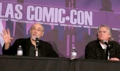 Dallas Comic-Con 2013 - Richard Dean Anderson and Tony Amendola