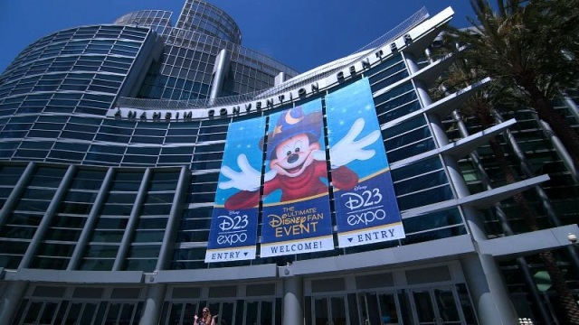Disney D23 Expo Anaheim Convention Center banner - Click to learn more
