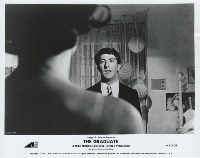 The Hollywood Collection - Dustin Hoffman with Anne Bancroft aka Mrs Robinson in The Graduate