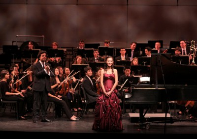 Up Close and Personal during a Gala Orchestra Performance - Click to order tickets to this wonderful event!