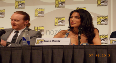 Defiance SDCC-2013-Tony Curran & Jaime Murray