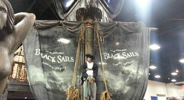 SDCC2013-Black Sails Pirate ship