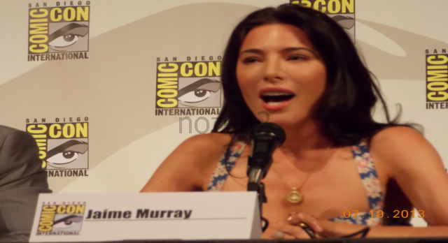 Defiance SDCC 2013-Jaime Murray