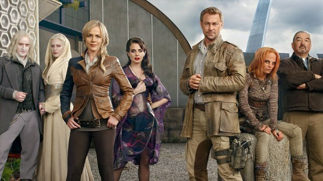 Defiance cast banner - Click to learn more at the official web site!