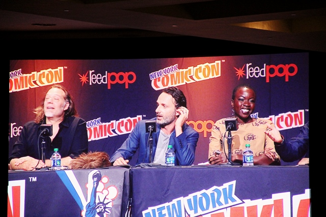 The Walking Dead and more at NYCC 2013