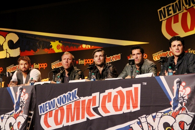 NYCC 2013 and the Men of Hercules