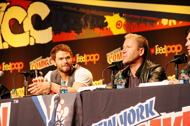NYCC 2013 Hercules pane with Harlin and Lutz